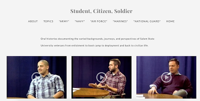 Listen to Veterans: the Student, Citizen, Soldier Oral History Project