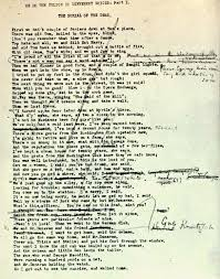 A HITHERTO UNKNOWN DRAFT OF The Waste Land